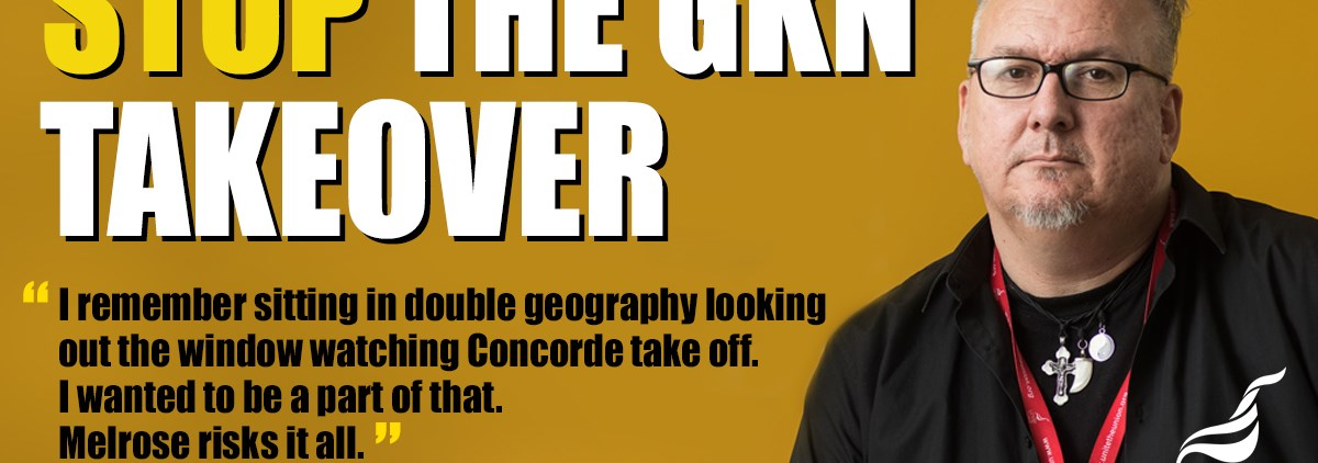 Stop GKN Takeover