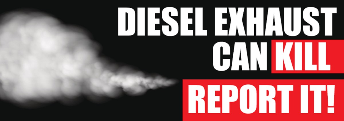 Diesel Exhaust Can Kill
