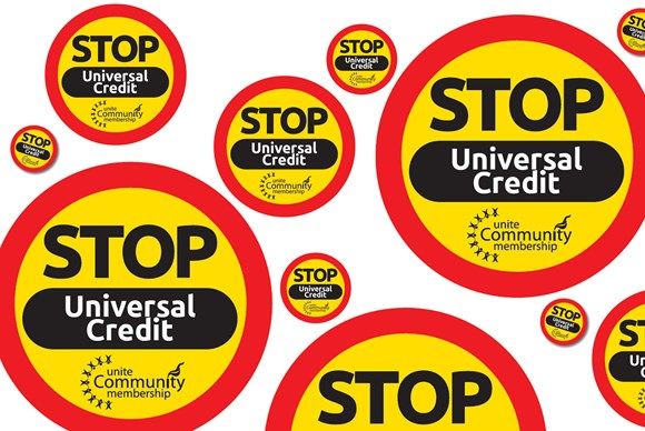 Image result for end universal credit poster photo