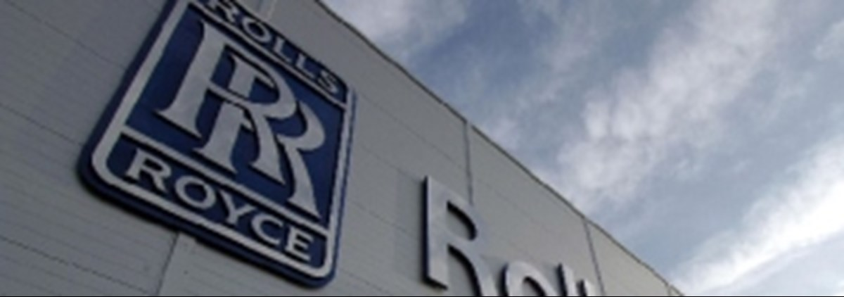 Rolls Royce factory, arty pic of building. Ground-breaking deal by unite