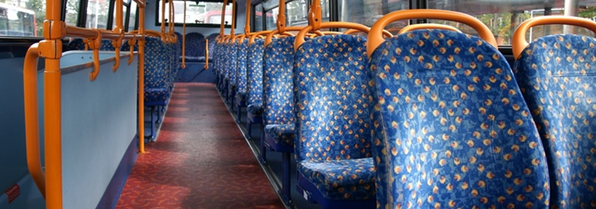 upper deck bus seats
