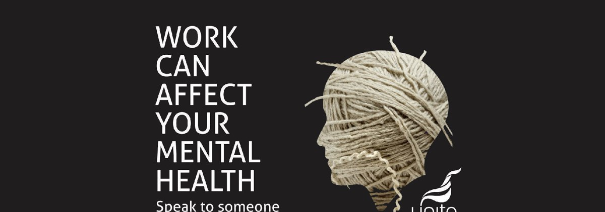 Work can affect your mental health