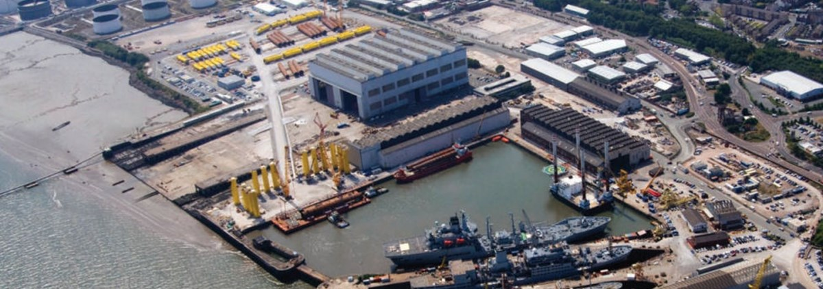 Cammell Laird factory