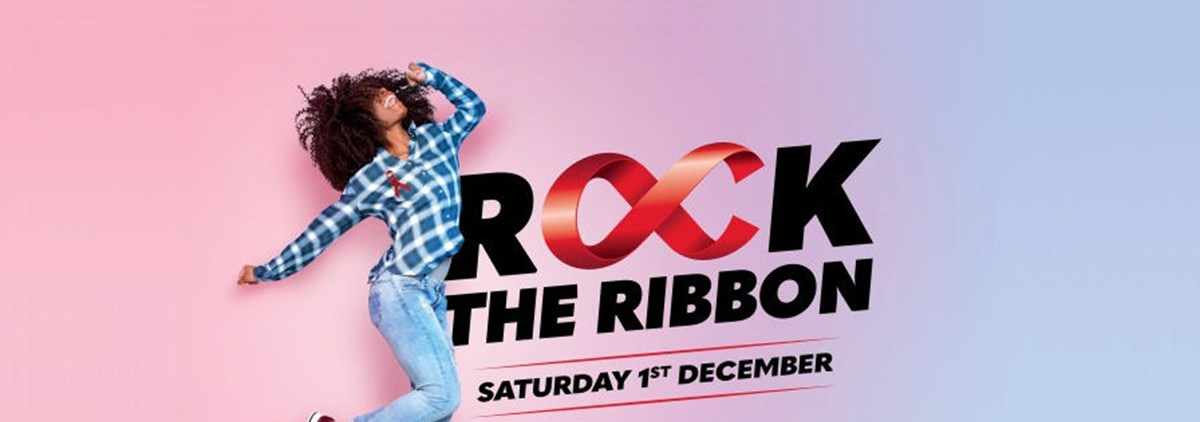 Rock the ribbon for World AIDS Day