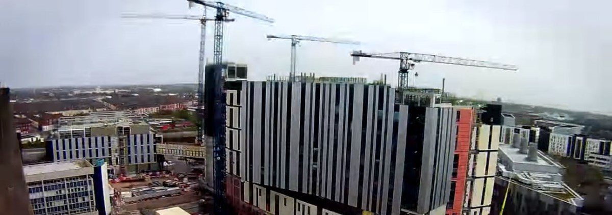 Royal Liverpool hospital construction