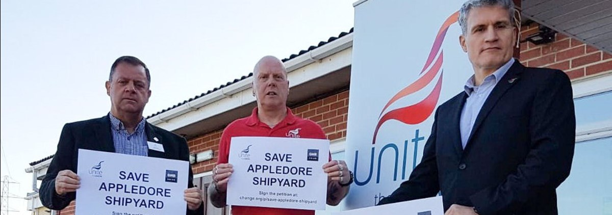 Save Appledore shipyard