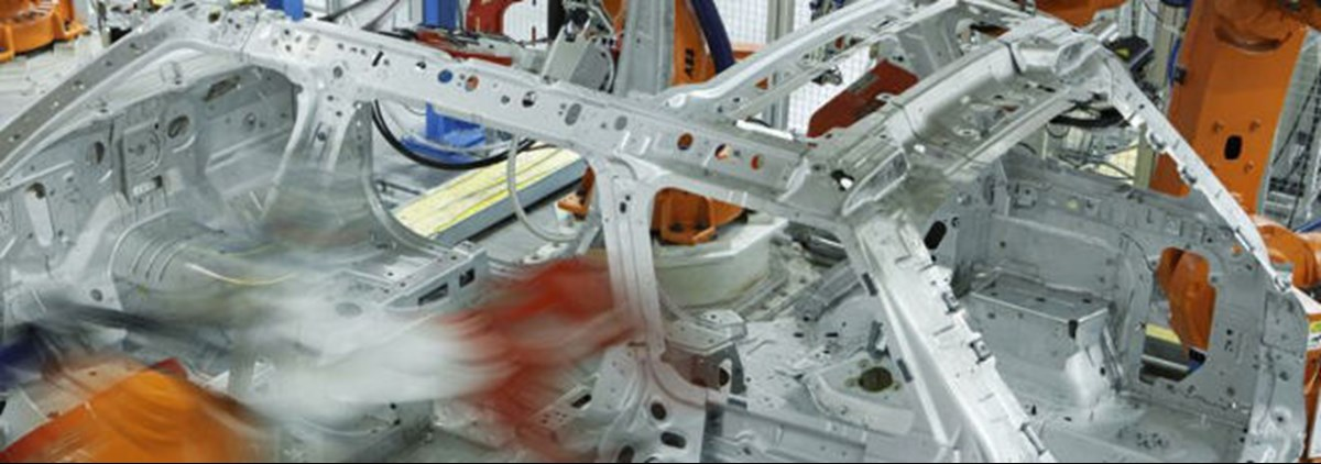 JLR production line
