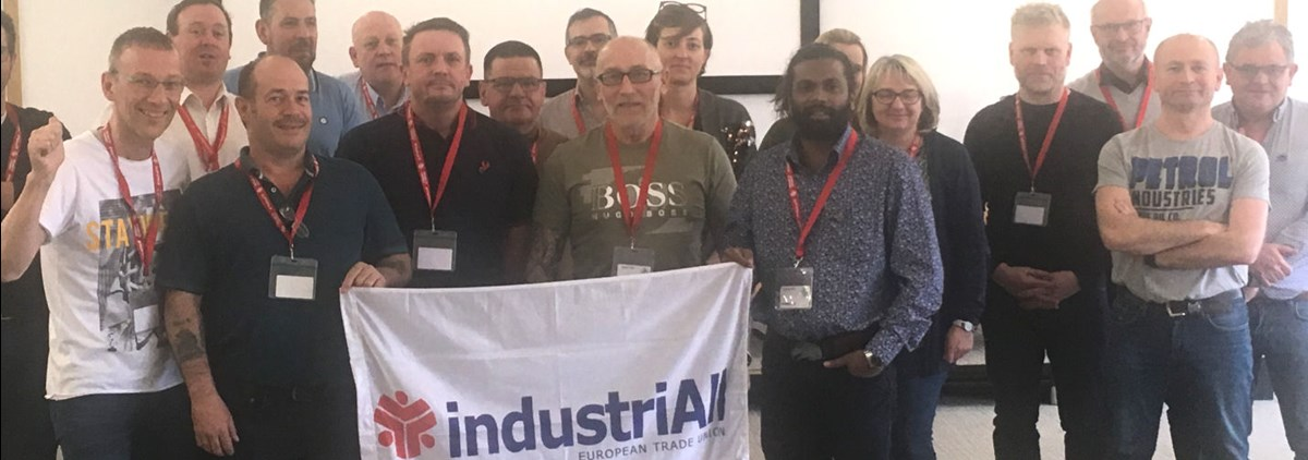 industriALL #SaveHondaSwindon solidarity