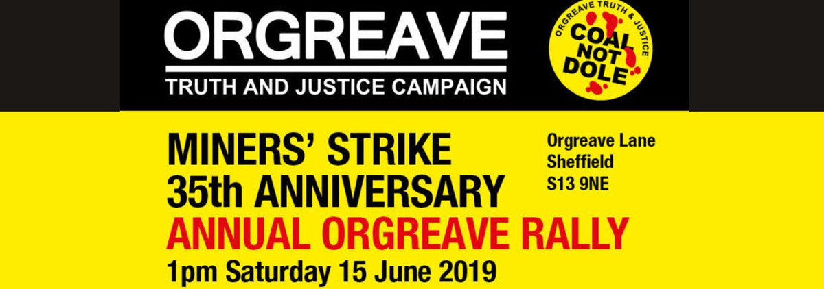 2019 Orgreave rally