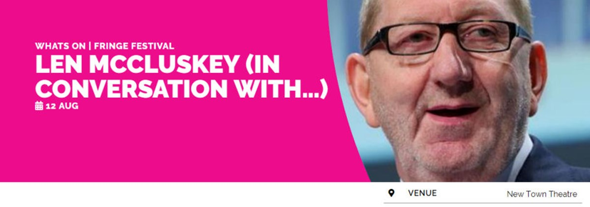 In conversation with Len McCluskey