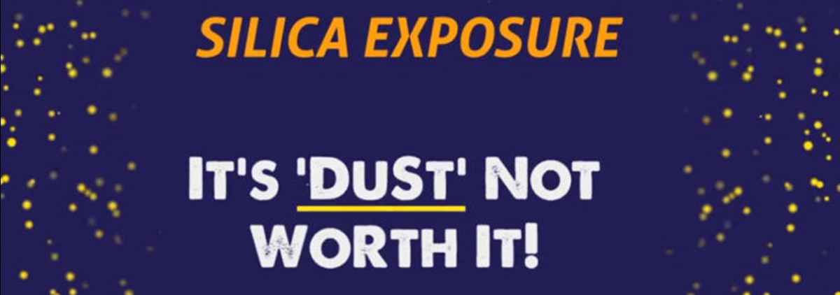 Silica - it's dust not worth it
