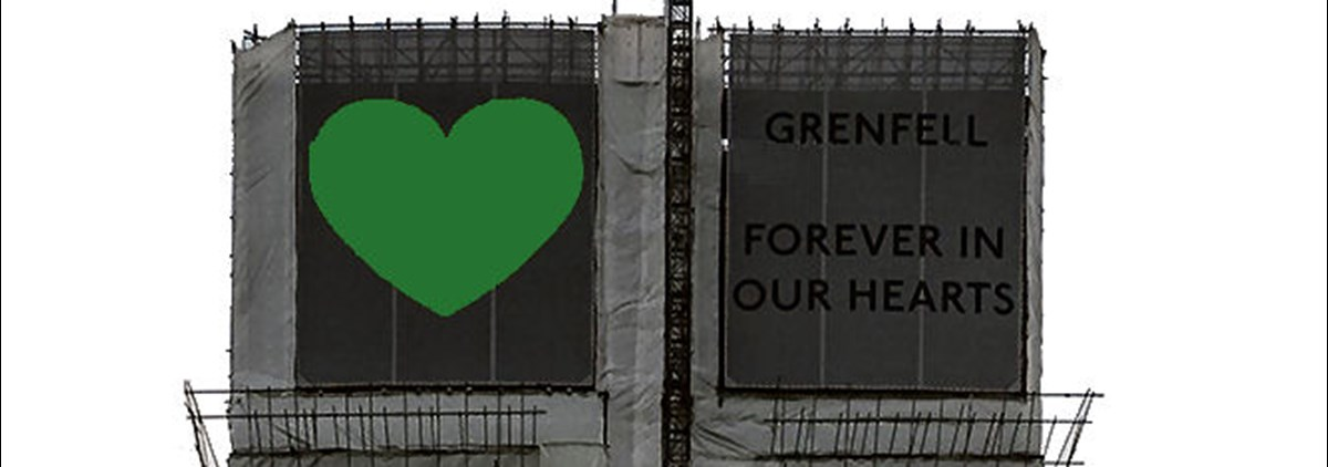 Grenfell always in our hearts