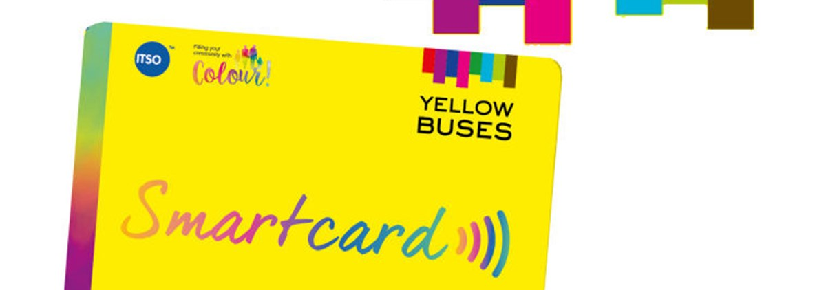 Yellow bus smart card