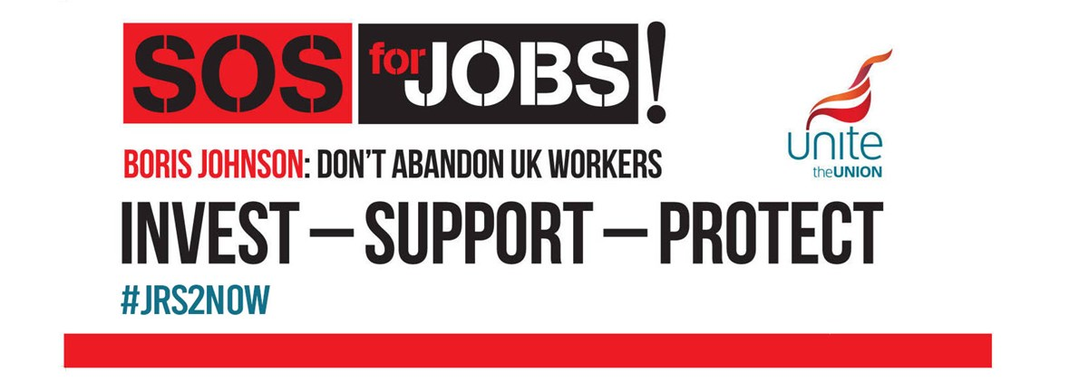 SOS For Jobs banner