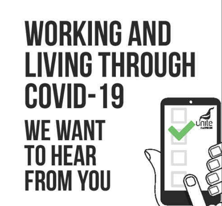 Working through Covid member survey