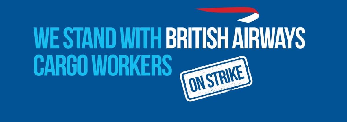 BA Cargo workers